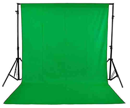 2. Hanumex® High Quality Green BackDrop Background accurate 8x12 Ft for Studio - Camera Accessory
