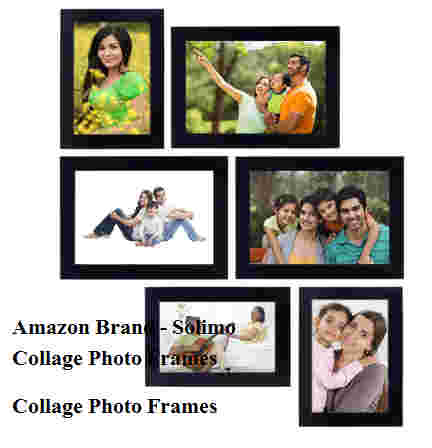 Amazon Brand - Solimo Collage Photo Frames
