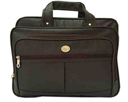 1. Future Laptop Bag / File and Folder / Office Bag with Many compartments (Jett Black)