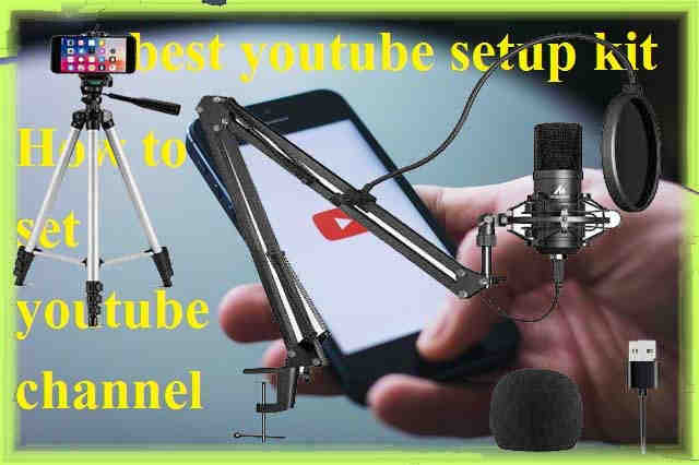 How to set youtube channel
