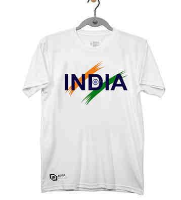 India Round Neck T-Shirt