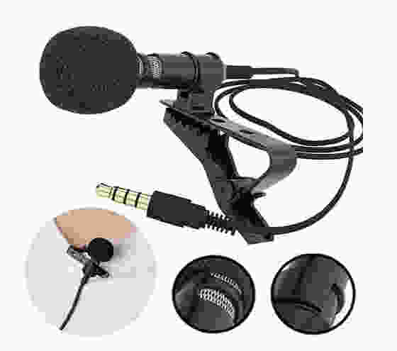 LionBolt Mini Lapel Metal Mic for YouTube Video Recording, Interviews & Lectures Reporting Work with All Smartphones by Lionbolt