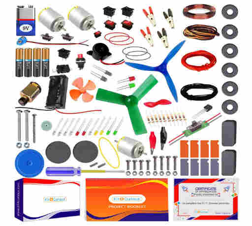Kit4Curious Super Kit 100 items in a kit –
