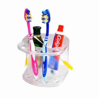 LOGGER SSS Acrylic Wall Mounted Toothbrush