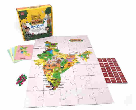 Toiing Puzzletoi India Explorer