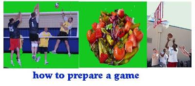 खेल तैयार करने के लिए जानकारी पढ़े। How to prepare a game